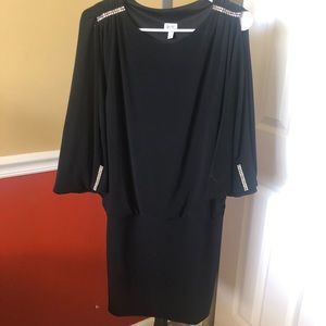 Black Cache dress size medium ( 8-10)
